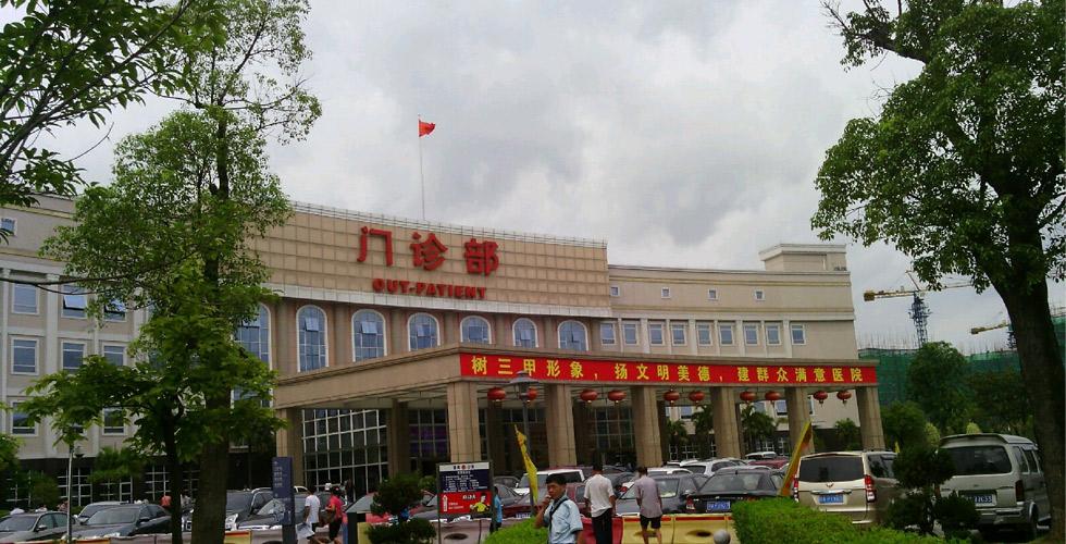 番禺中心医院自动门工程