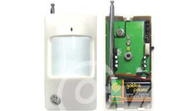 无线双元被动红外探测器